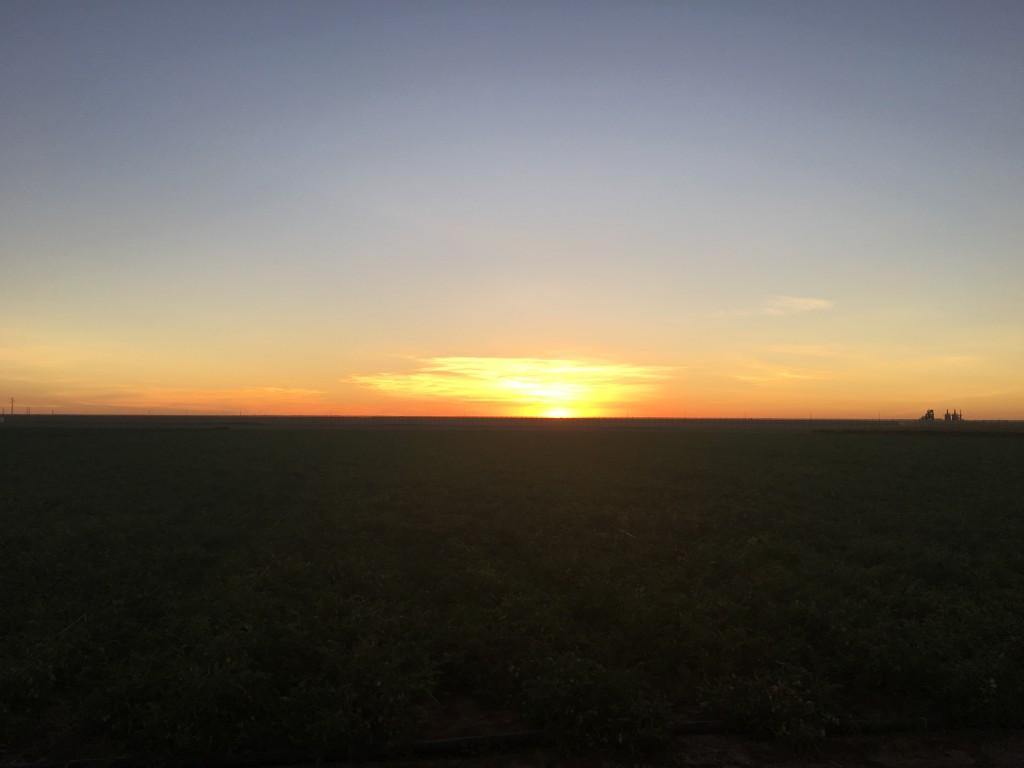 A sunrise in Spain