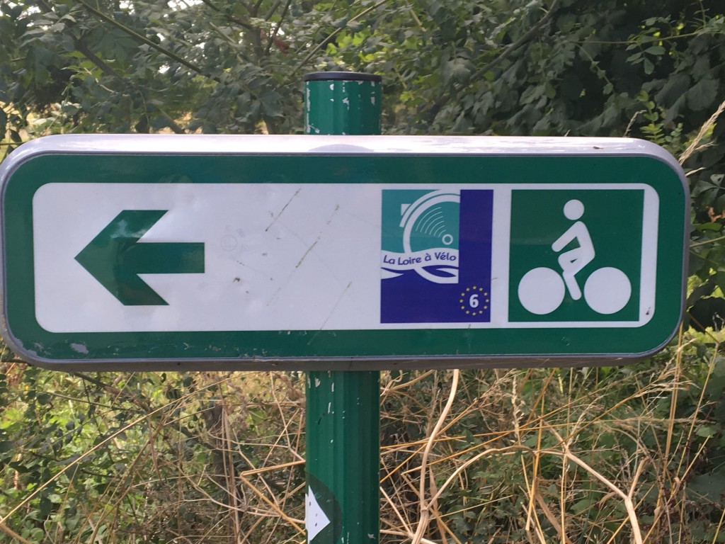 Sign on the Ultimate Bike Path