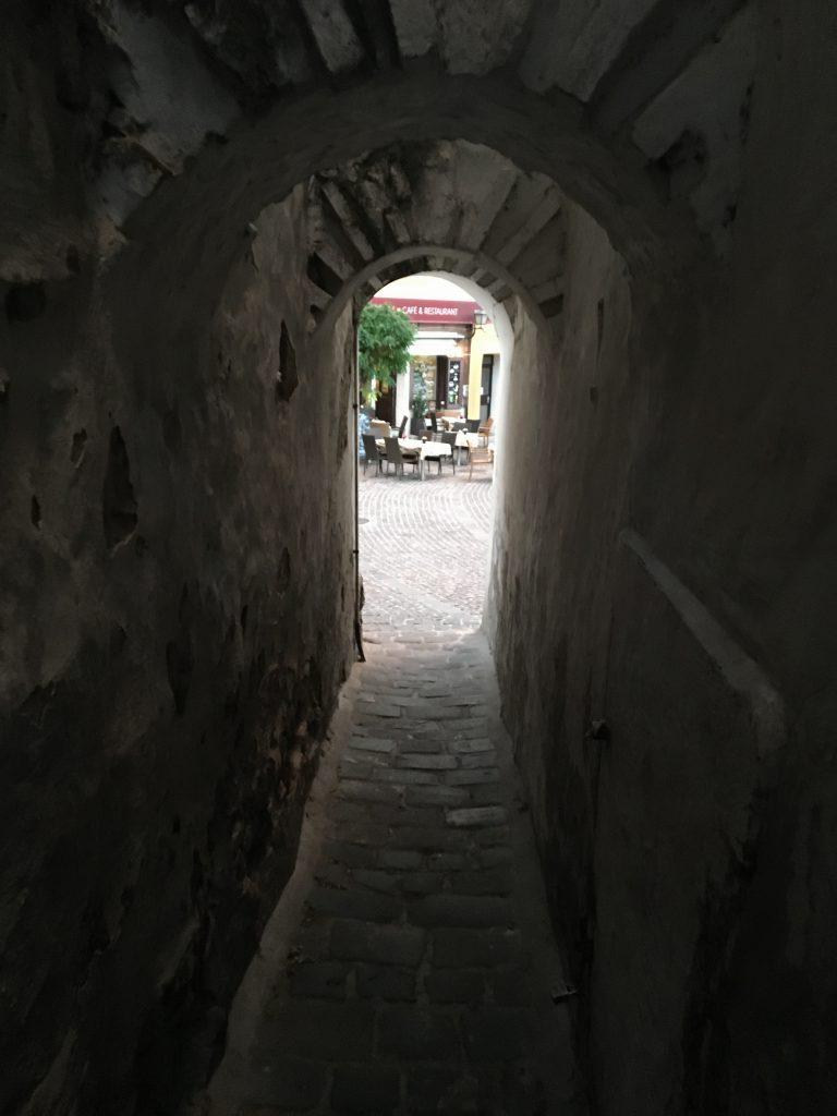 A pretty narrow street