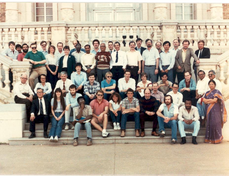 1985 TTU Class Photo