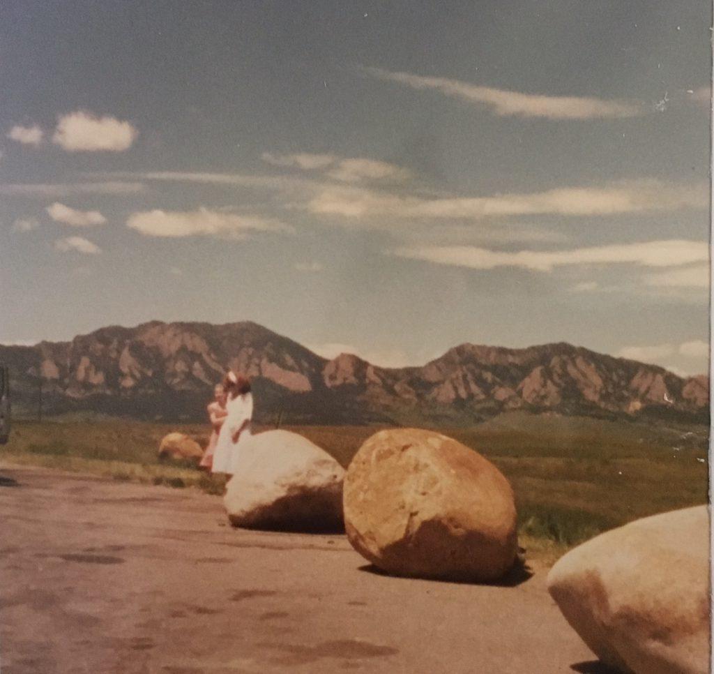 Highway 36 overlook in 1987