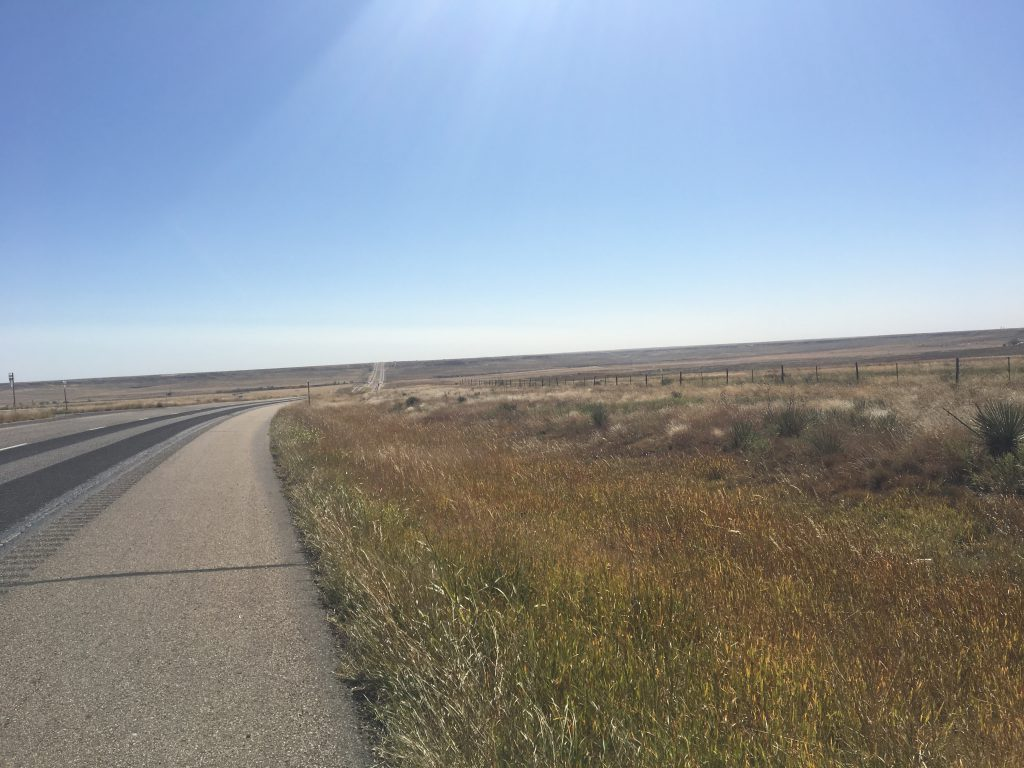 Even the Texas Panhandle has hills